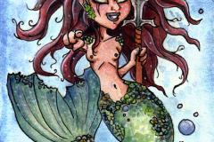 Mermaid warior